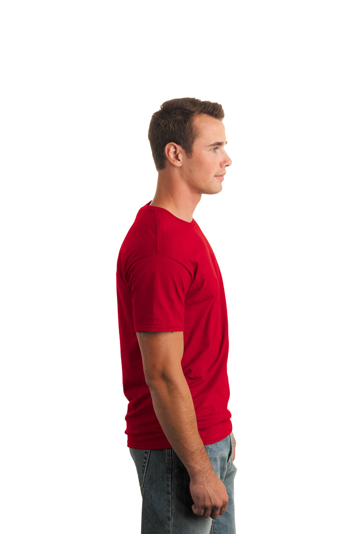Red T-Shirt Model Right