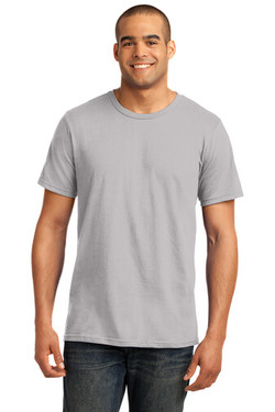 Silver Custom Tee Model Front