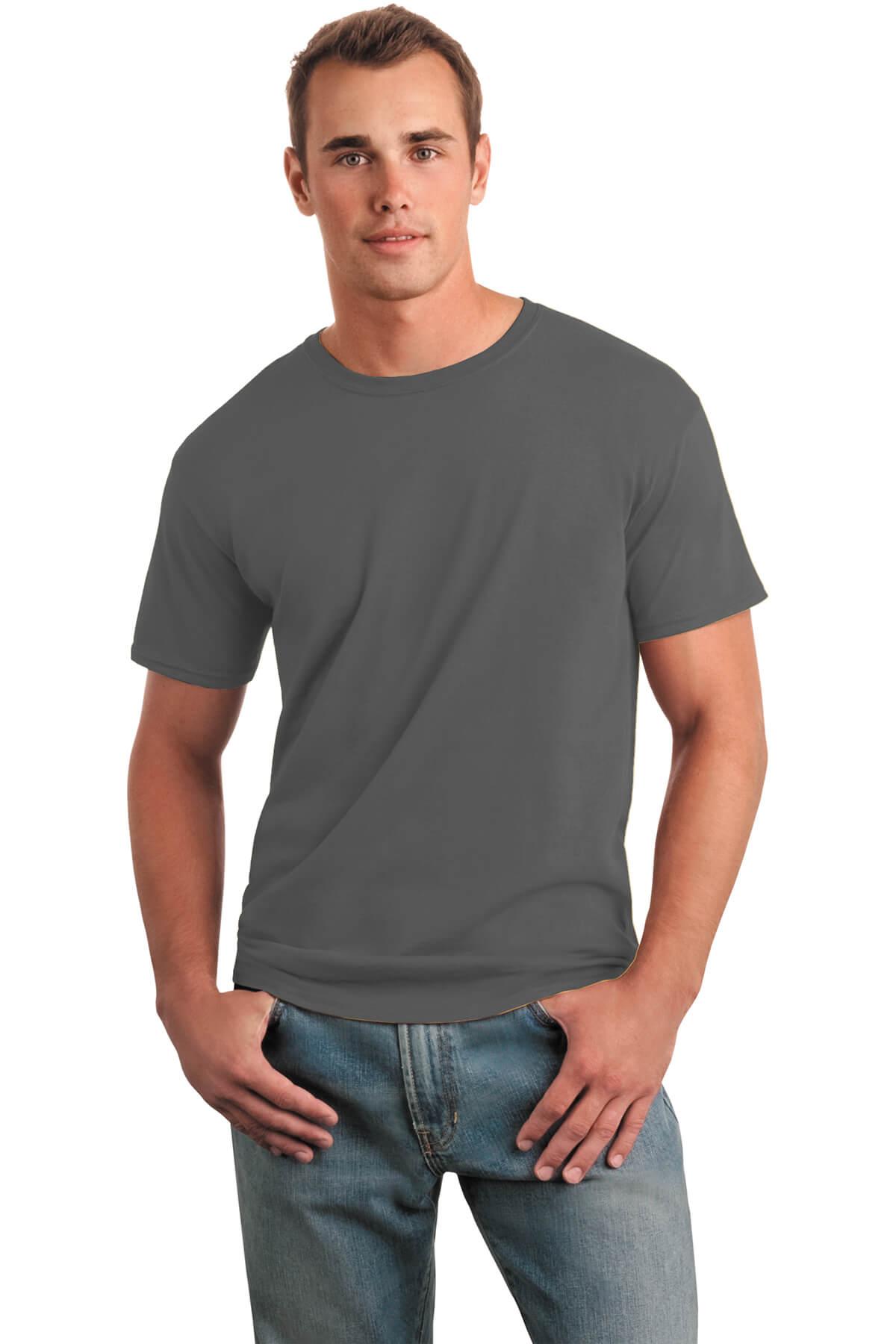Charcoal T-Shirt Model Front