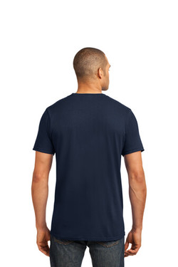 Navy Custom Tee Model Back