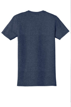 Heather Navy T-Shirt Back