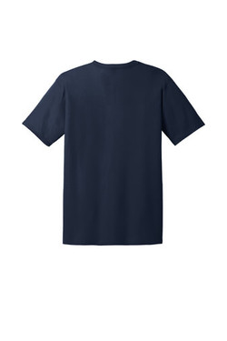 Navy Custom Tee Back