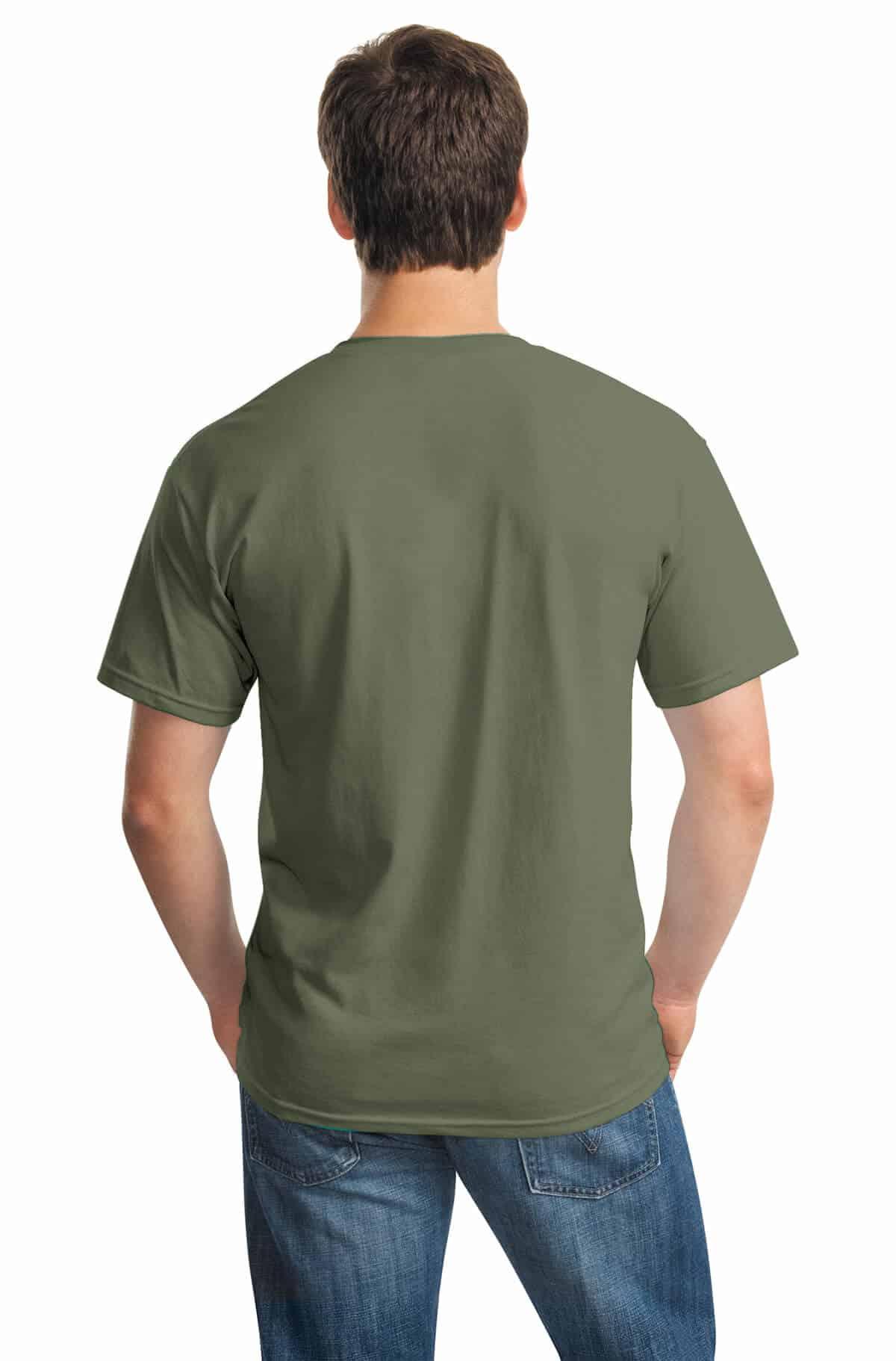 Military Green Tee Back