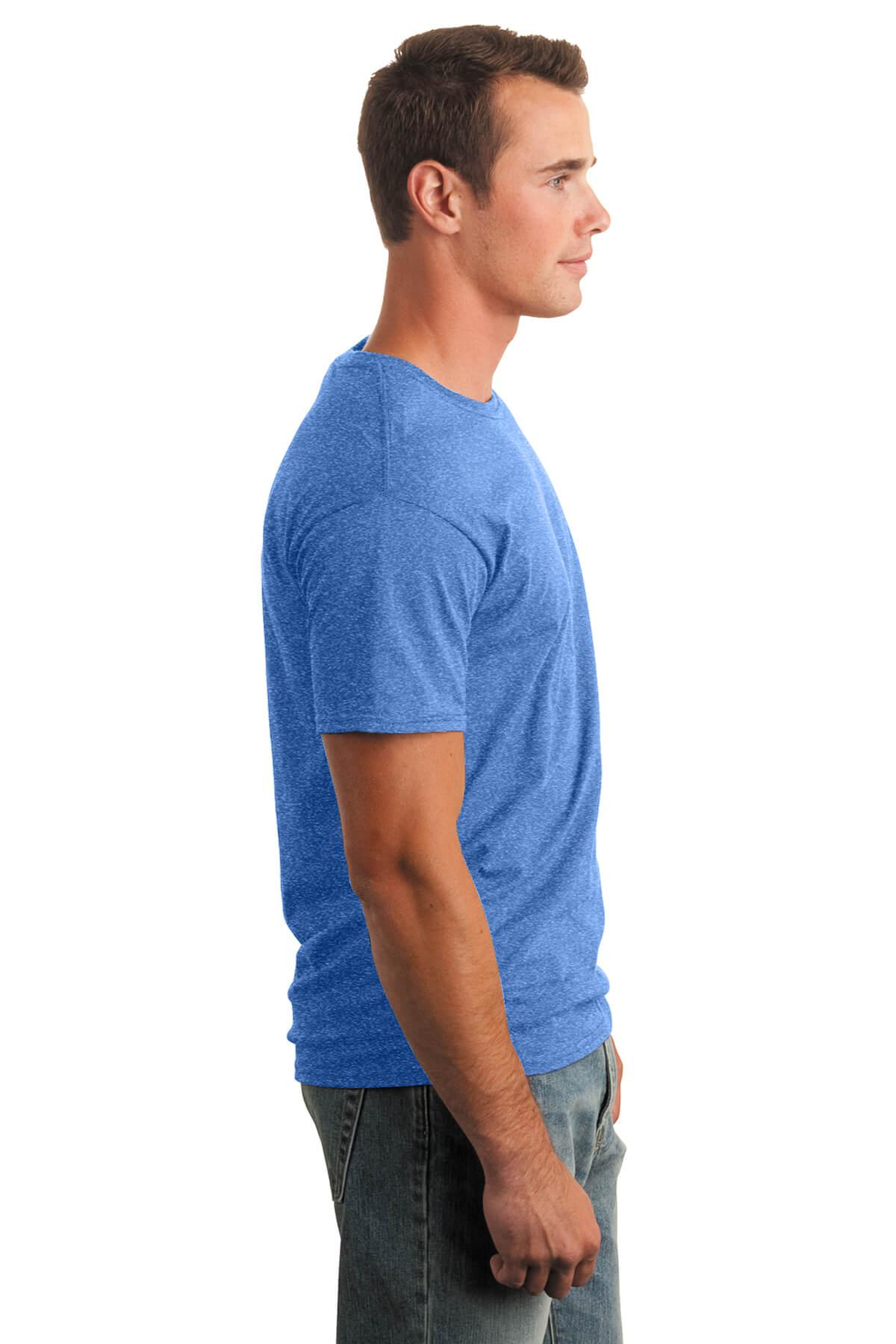 Heather Royal T-Shirt Model Right