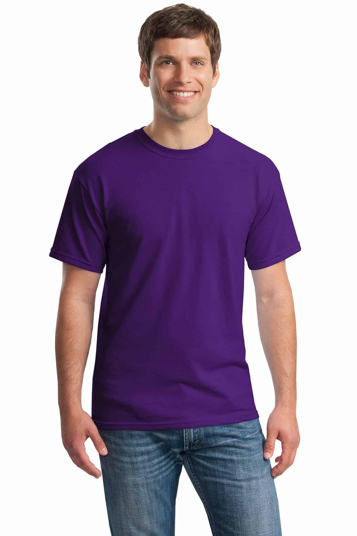 Purple Tee Front