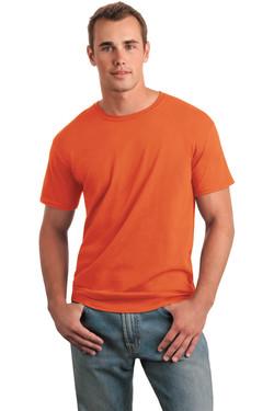 Orange T-Shirt Model Front