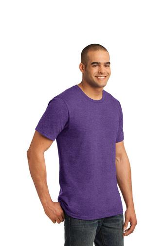 Purple Custom Tee Model Side
