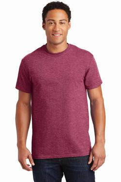 Heathered Cardinal TeeShirt Front