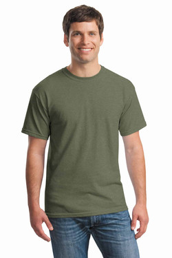 Heather Military Tee Front