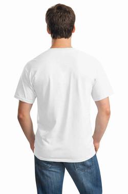 White Tee Back