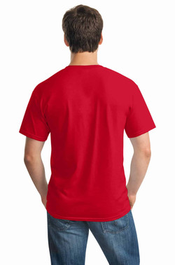 Red Tee Back