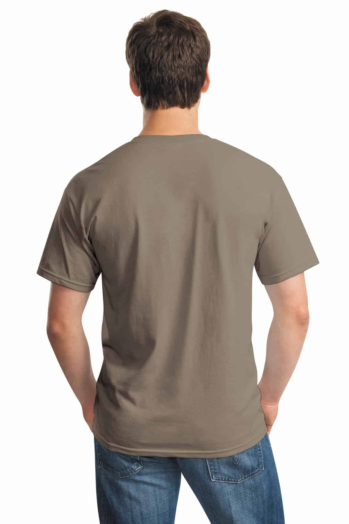 Brown Savana Tee Back