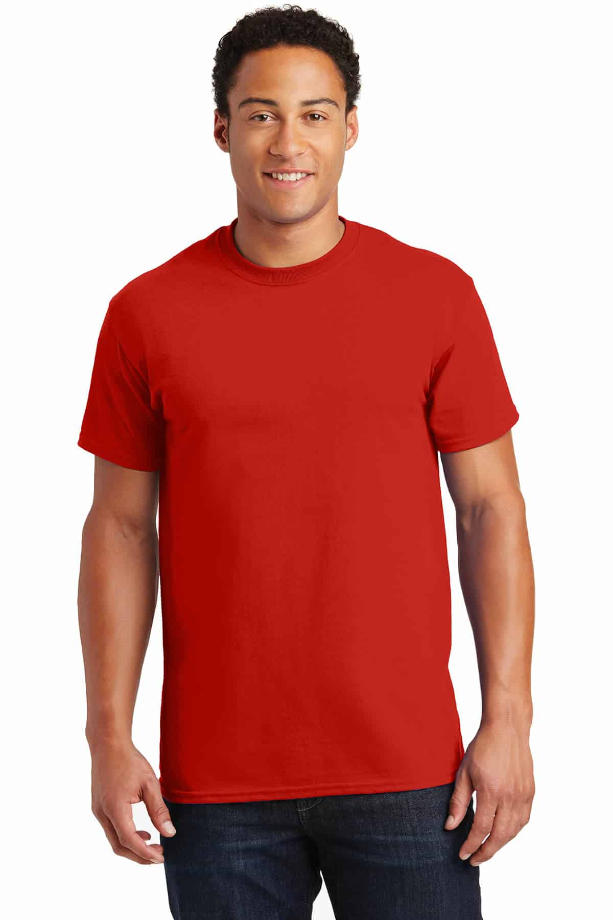Red Tee Front