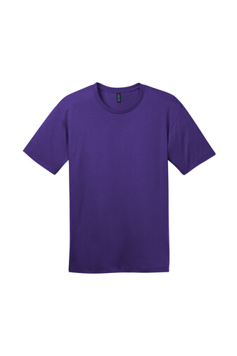 Front Front Custom Tee Shirt Purple