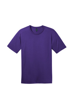 Front Front Custom Tee Shirt Purple