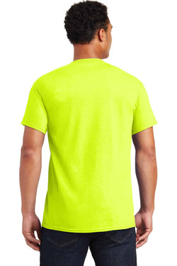Safety Green Teeshirt Back