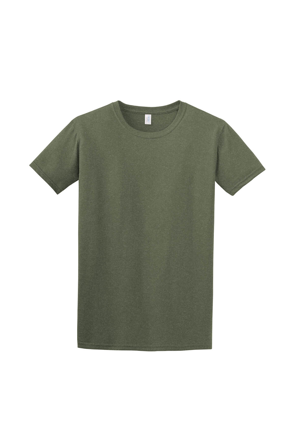 Military Green T-Shirt Front