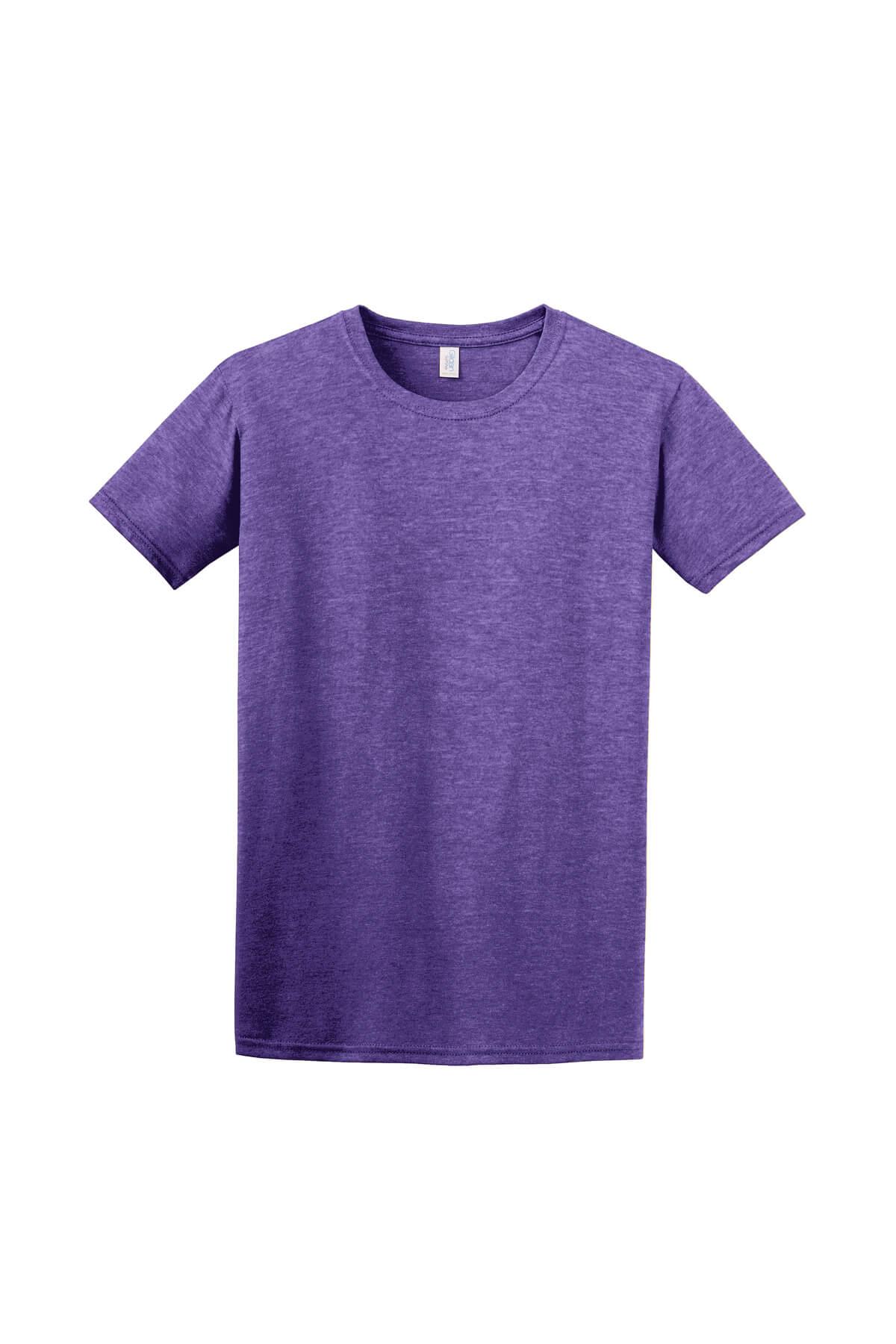 Heather Purple T-Shirt Front