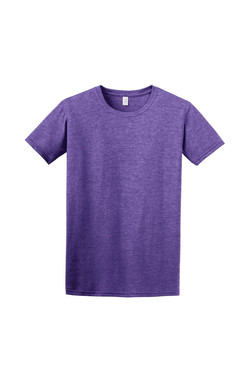Heather Purple T-Shirt Front