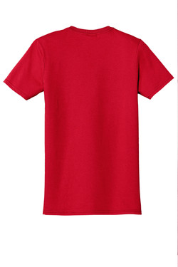 Red T-Shirt Back