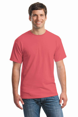 Coral Silk Tee Front