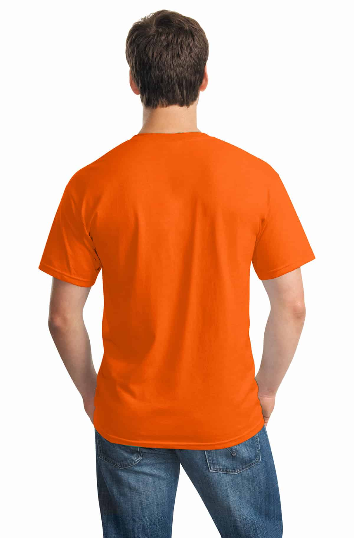 Orange Tee Back