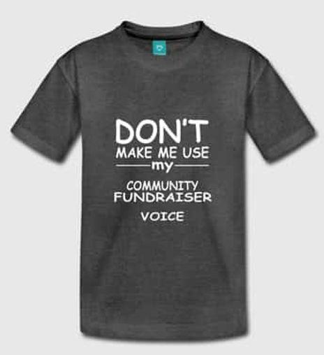 Community Fundraising T-shirt