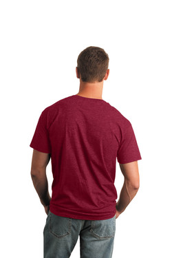 Cherry Red T-Shirt Model Back