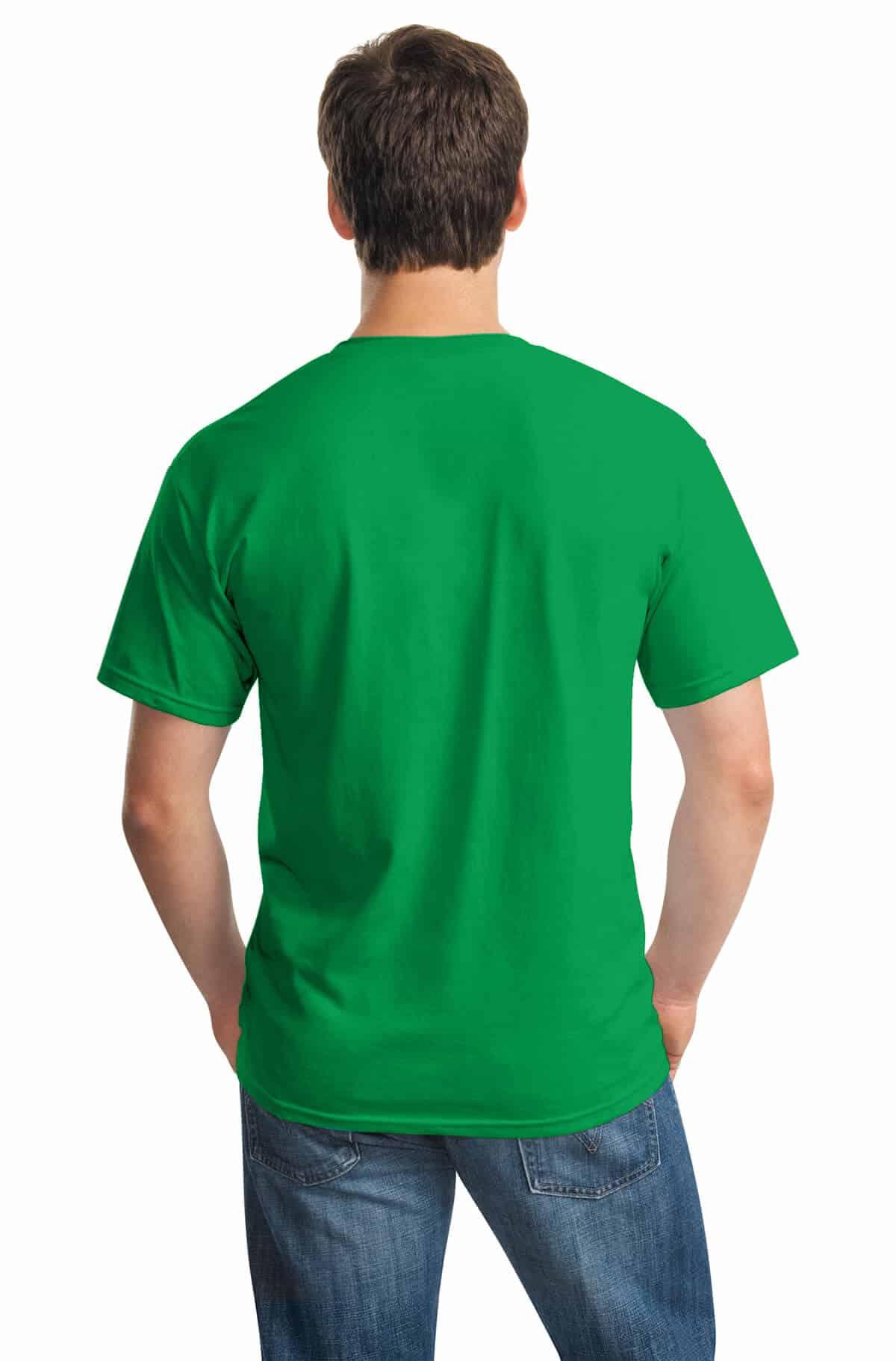 Irish Green Tee Back
