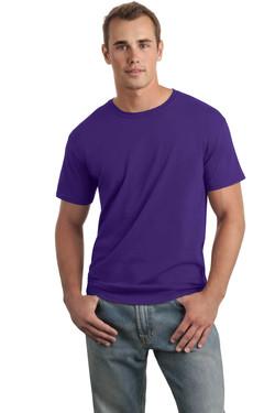 Purple T-Shirt Model Front