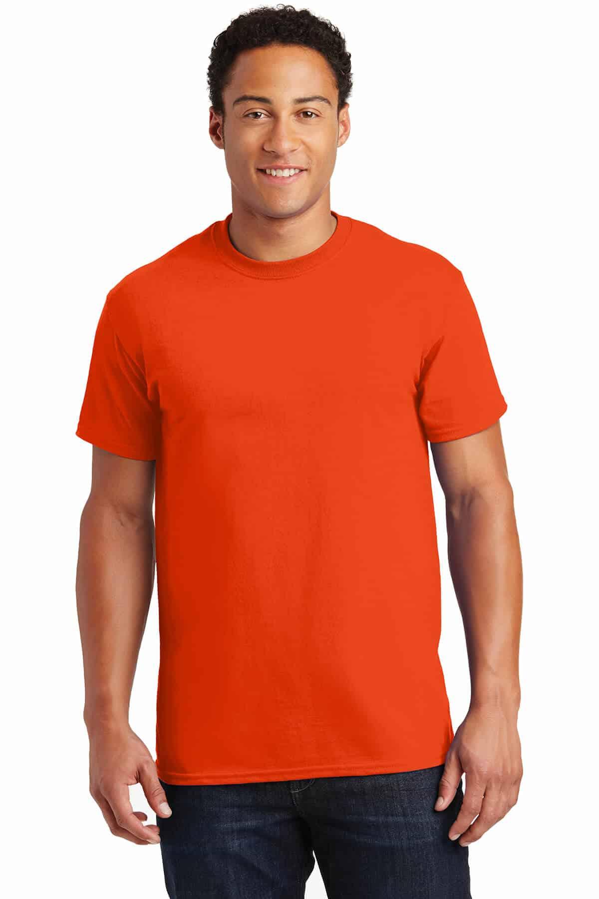 Orange TeeShirt Front