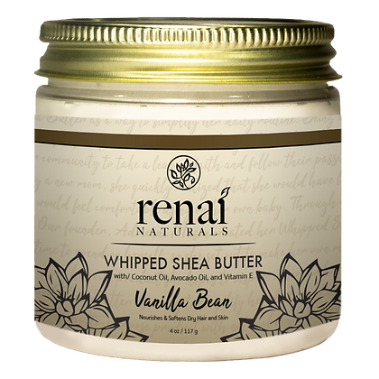 Vanilla Bean Whipped Shea          Butter