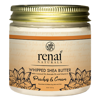 Peaches and Cream Whipped Shea Butter