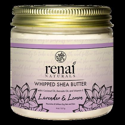 Lavender and Lemon Whipped Shea Butter
