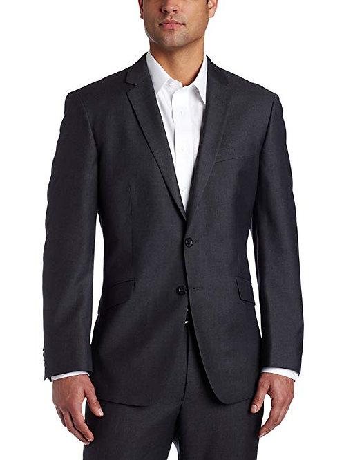Slim Fit Suit Jacket - Grey