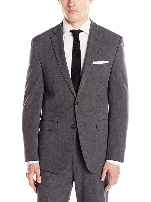 Slim Fit Flex Stretch Jacket - Grey