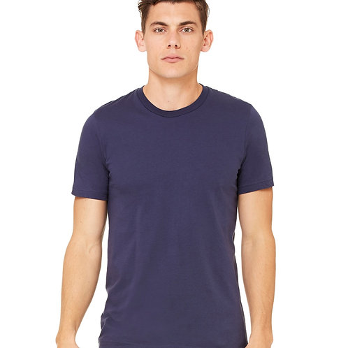 Bedford Rolled Cuff Tee - Navy