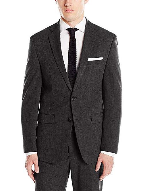 Slim Fit Flex Stretch Jacket - Black Dot