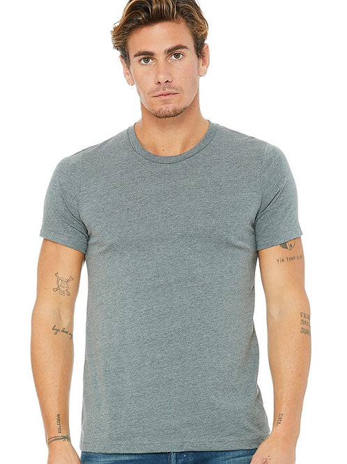Bedford Rolled Cuff Tee - Carbon
