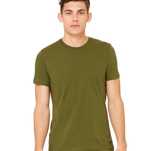 Bedford Rolled Cuff Tee - Olive