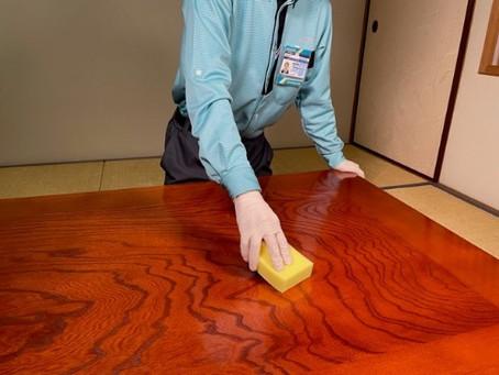 新サービス 室内抗菌加工サービス(硬質面)