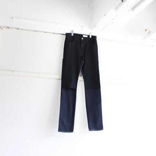 jieDa 2way denim pants BLK×OW size.2