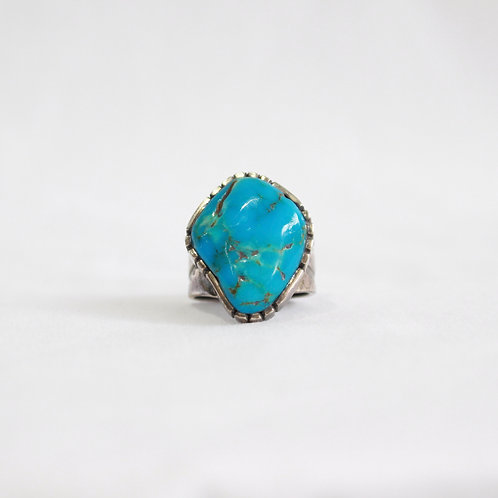 turquoise & silver ring #2