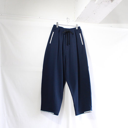 my beautiful landlet vintage sweat wide easy pants navy