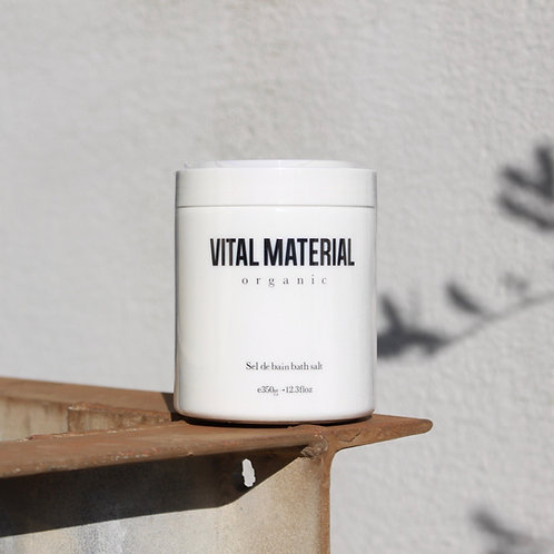 VITAL MATERIAL アロマハーブバスソルト