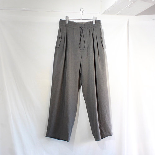 VOAAOV NATURAL WATER REPELLENT EASY PANTS gray