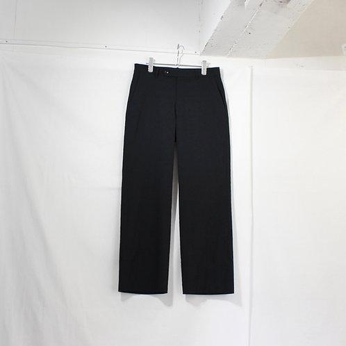 VOAAOV cottonpoly pants black