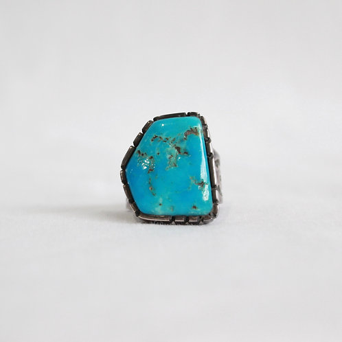 turquoise & silver ring #5