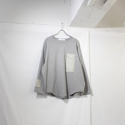 sneeuw ポケットロングスリーブPO gray size.3