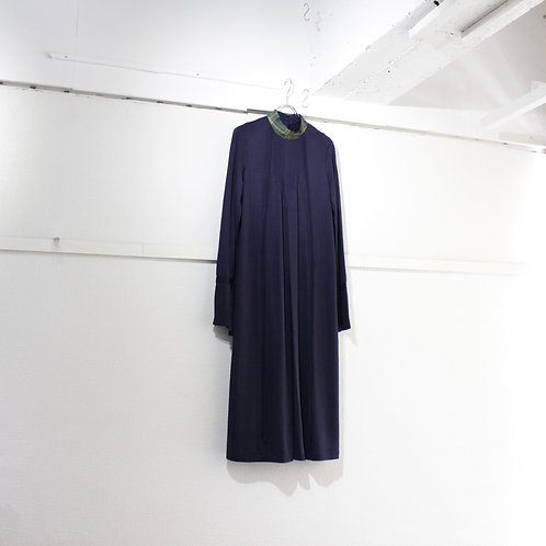 ohta navy long dress size.W1